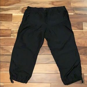 Eileen Fisher Silk Cropped Pants
